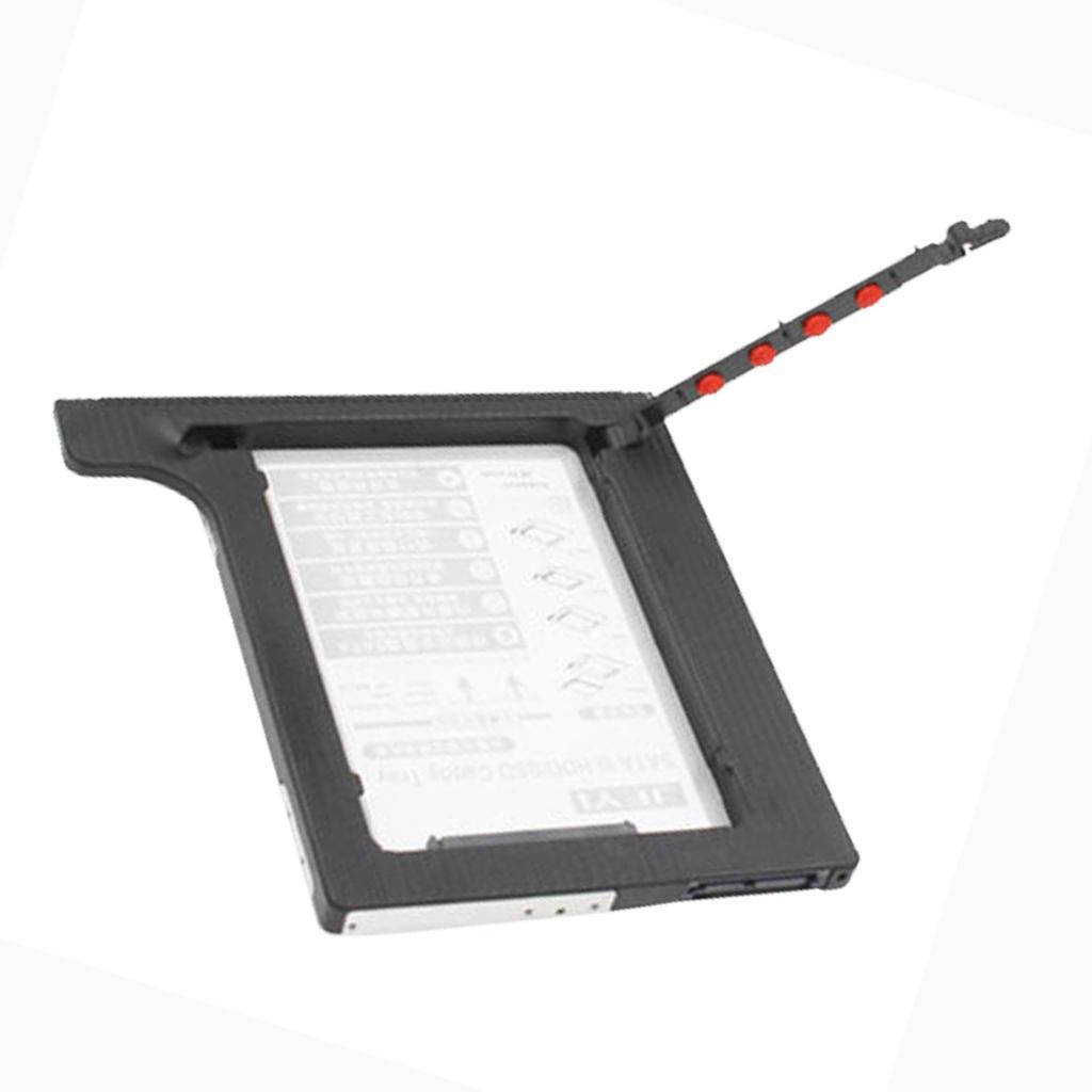 8.9mm 2.5inç 7mm / 9.5mm SATA III II I Sabit Disk için 9.5mm Kalın SATA SSD HDD Sabit Disk Caddy Tepsi Sabit Disk Parantez Kutu