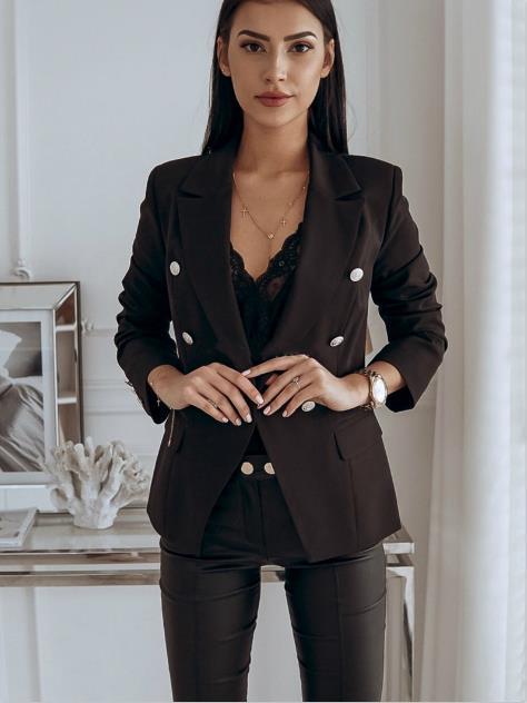 Kadın Tasarımcı Ceket Sonbahar Ve Kış Rahat Moda Katı Renk Uzun Kollu Standı Yaka Takım Elbise Ceket Bayan Kış Mont