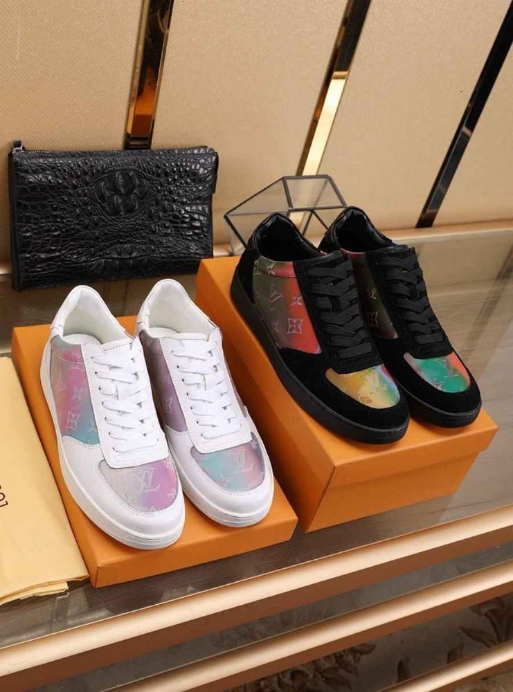 Erkek Volkan Dalga ayakkabı Spor Sneakers Floresan Dantel-up 071101