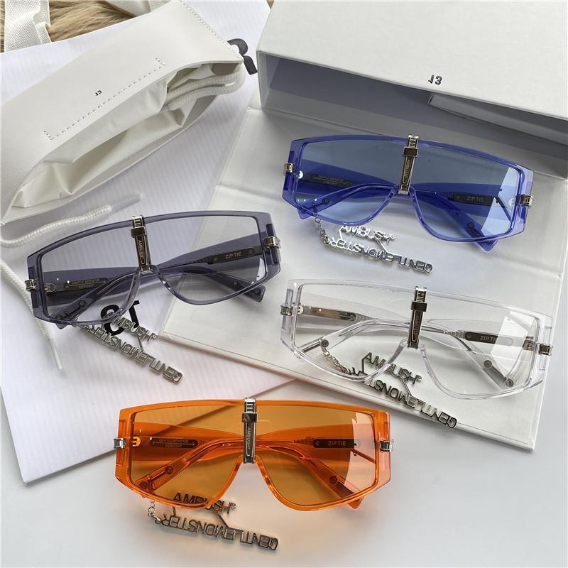 أعلى كمين مشترك النظارات الشمسية سلسلة الرجال النساء الشمس لون نظارات النظارات هلام ZIP التعادل بارك Jaebeom نفس الفقرة قطعة واحدة نظارات الشمس