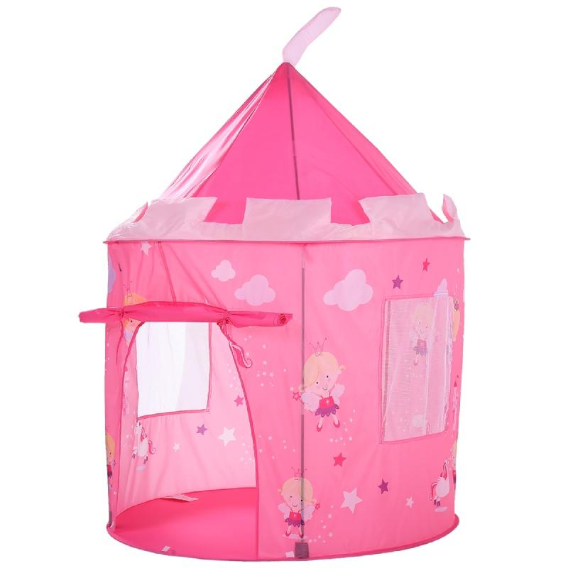 Baby toy play house Portable Folding Prince Princess castle Tent Children Pink Castle Play House Kids Gift Outdoor Beach tent Girls gifts