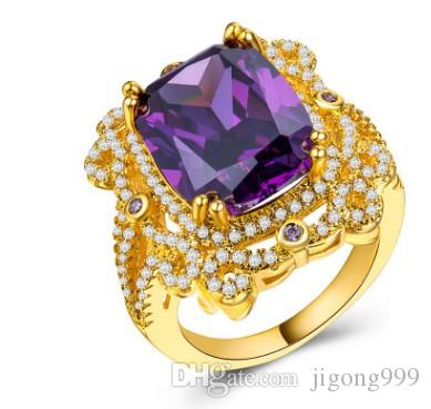 mode en gros faible bague de haute qualité diamant cristal zircon femmes 17.55