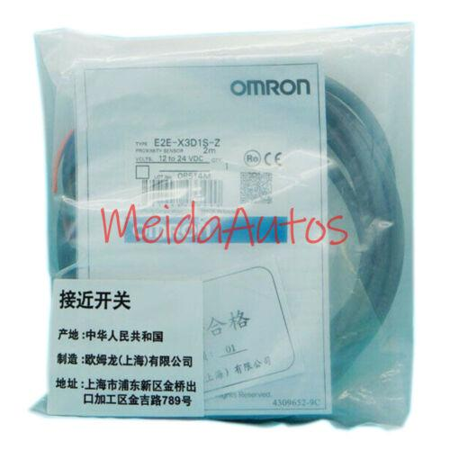 Nuevo en caja Omron sensor de proximidad E2E-X3D1S-Z 12-24VDC Garantía de un año