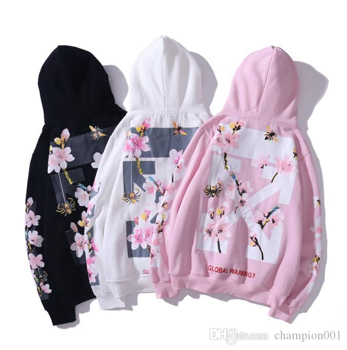 &#65 M-xxl black white pink hoodie with no access control