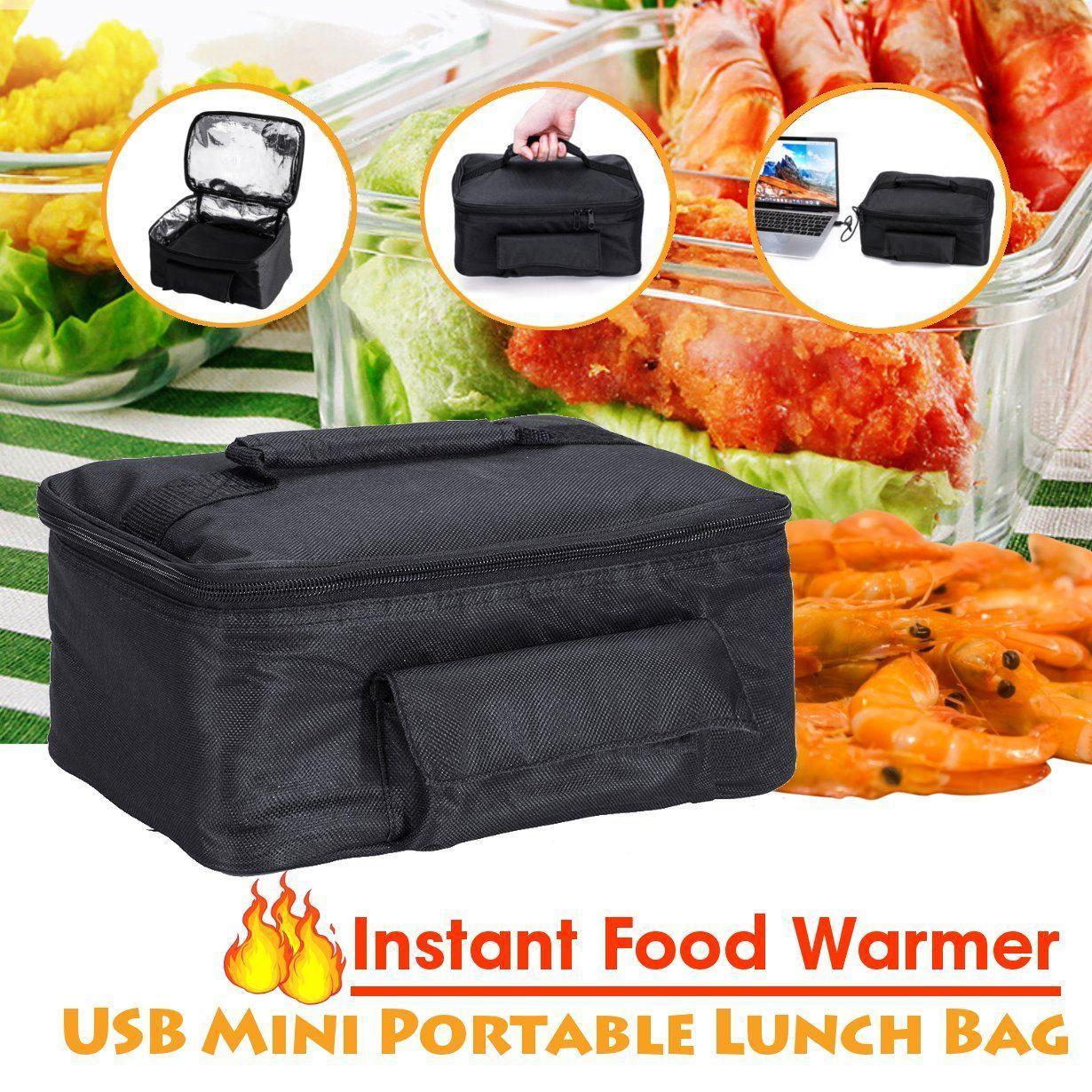 Mini USB portatile personale pranzo Forno Food Bag Warmer Forno elettrico Riscaldamento Lunch Box Veicolo / Household Y200429