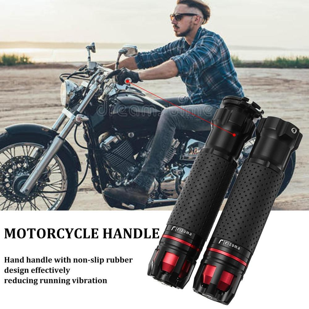 7//8 22Mm Motorcycle Throttle Handlebar CNC Aluminum Rotatable Hand Grips