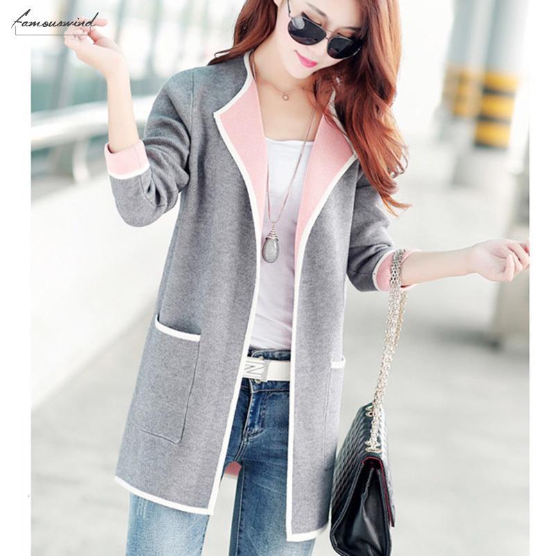 Casaco Womens Sweater Cardigan 100% algodão para as Mulheres Plus Size 2019 Primavera e Outono coreano Feminino Estilo Moda Tops