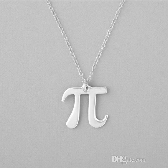 30pcs science Pi 3.14 Math Collana Pi Simbolo Collana Matematico Insegnante Geometria Collana di gioielli Regalo per amici e compagni di classe