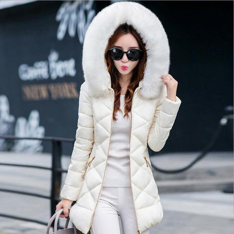Hot Winter Jacke Frauen 2018 newwinter Damenjacke weibliche Jacke dicker Mantel und Mantel hochwertiger warme Frauen Wintermäntel Y190830