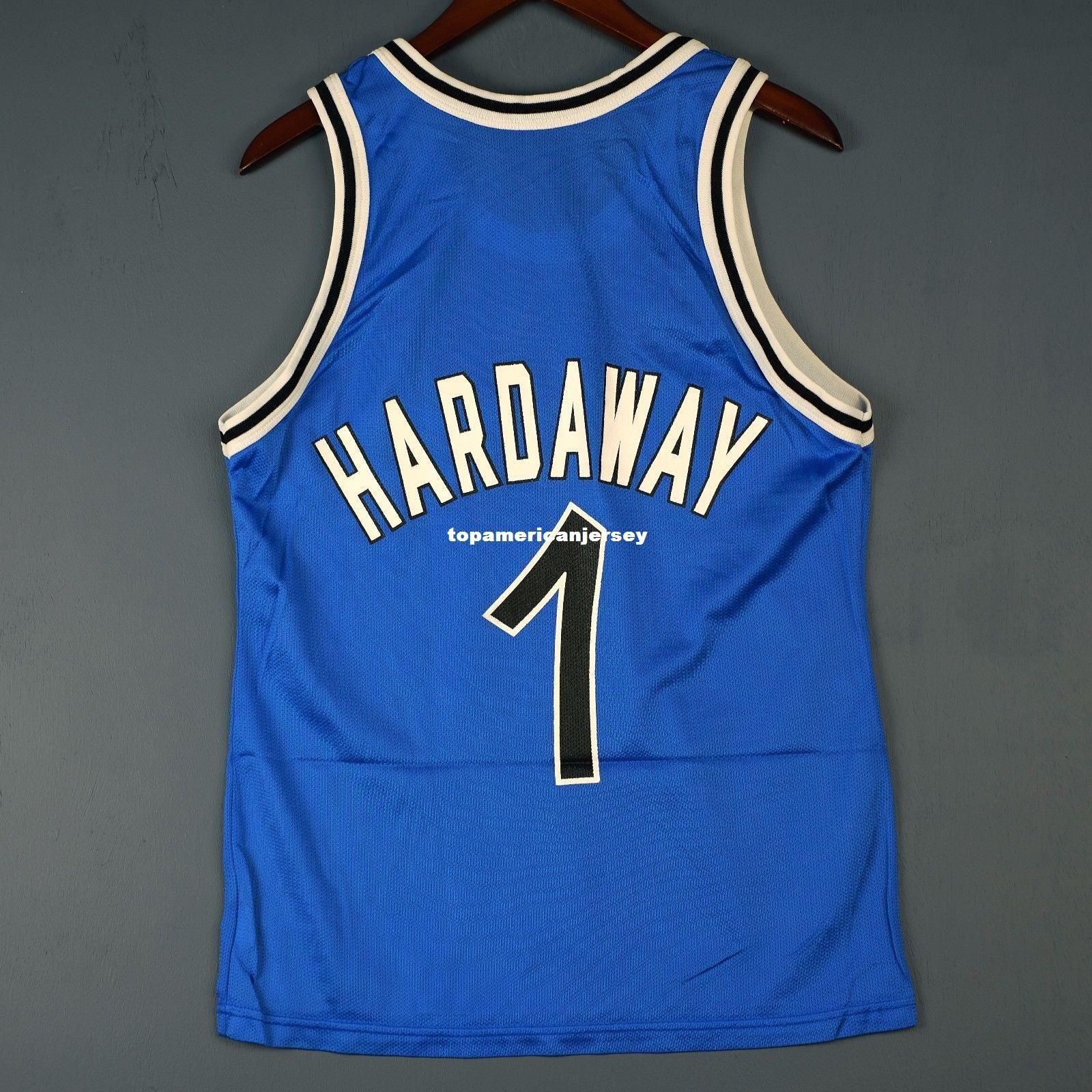 100% Stitched Penny Hardaway Champion Sewn Jersey Mens Vest Size XS-6XL Pullover di pallacanestro cucita Ncaa