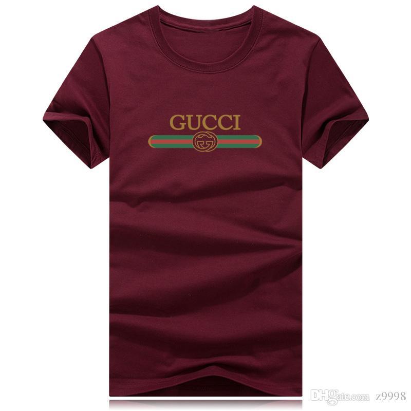 Новые поступления мода горячие мужская сексуальная с коротким рукавом o-образным вырезом повседневная Slim Fit футболка Tee Top черный красный белый цвета