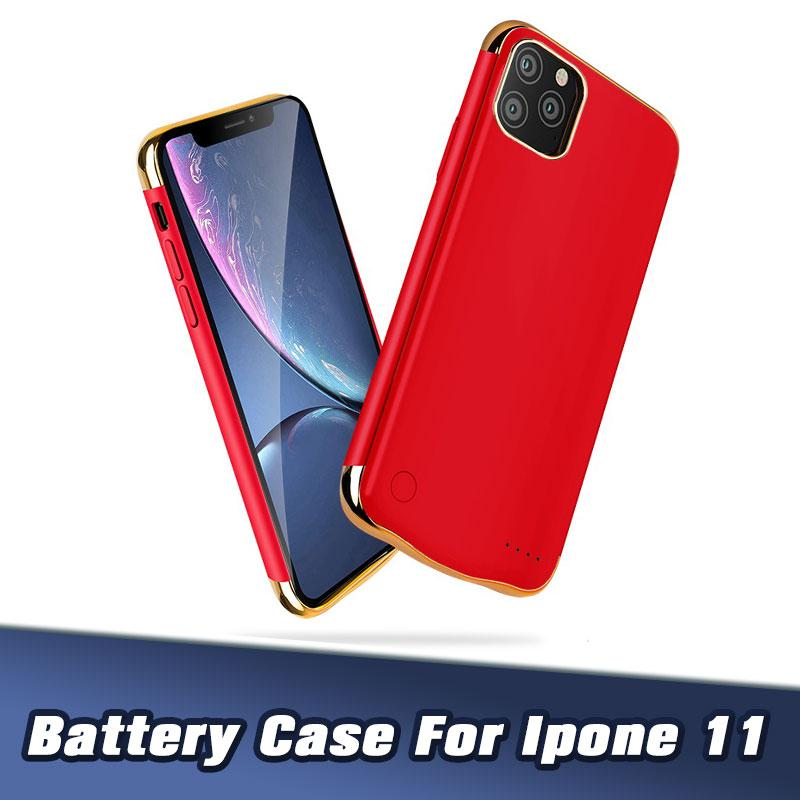 Charger case For iPhone 11 11pro 11 pro max 6000 Mah Battery Case Portable Phone Backup Rechargeable Extended With Retail Package