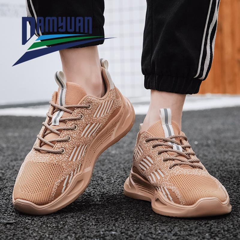 2020 Running Shoes Fashion Breathable Comfortable Summer Men's Sneakers Non-slip Wear-resistant Casual Men's Sports Shoes