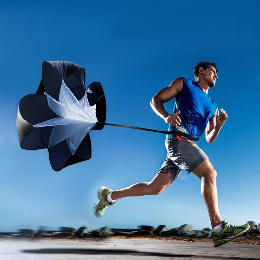 قابل للتعديل 1.3M سرعة تدريب طويل المقاومة المظلة الحجم 5 معدات تدريب كرة القدم كرة القدم مع حقيبة قوة 5-15kg