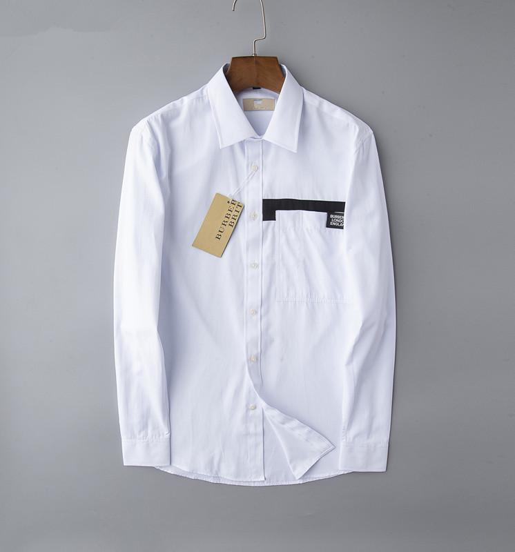 2020 nous affaires marque mince chemise à carreaux, la mode concepteur marque bande chemise casual coton manches longues taille de chemise coopérative m-4XL # 051