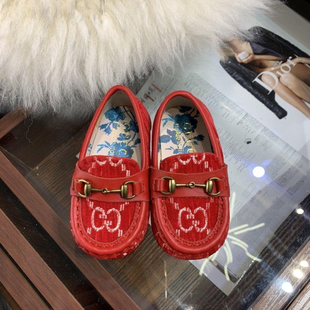 Novo padrão crianças Autumn Fashion Trend Exquisite Unisex Calçados casuais prewalker 032801