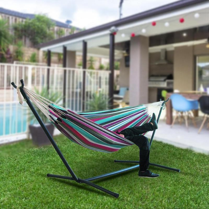 Fauteuil Suspendu jardin hamac Grand hamac pour le jardin Cour Balancelle extérieur sans étagère
