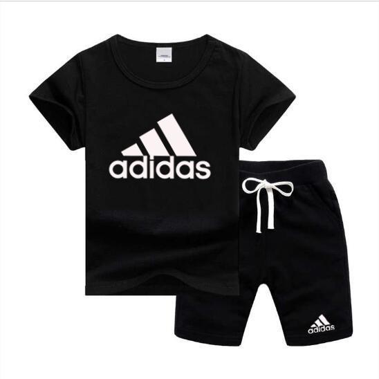 Beb/é-Ni/ños adidas Yb Logo Pantalones Corto