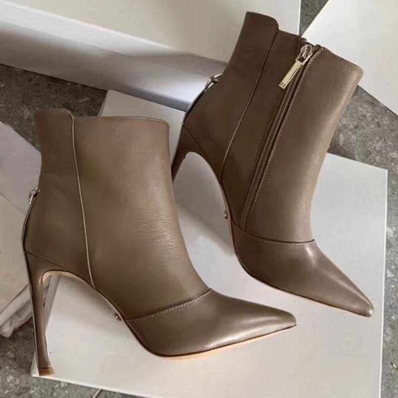 Vendita calda-Stivali da donna firmati Martin Desert Boot in vera pelle taglia US5-10 Scarpe invernali