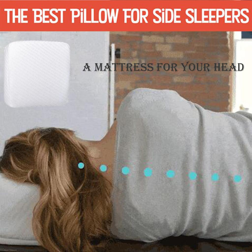 Pillow Designed For Your Head Protect Vertebral Cube Soft Pad Cushion Cover Sleeping Pillow Home Supplies#LR2
