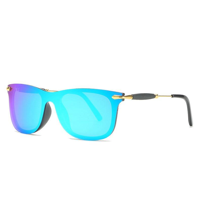 Sunglasses de lunettes de soleil Mens Sunglasses Polarisée Modèle2148 Haute Qualité Protection UV Lentille Charnière en métal Femmes de luxe Design Sunglasses