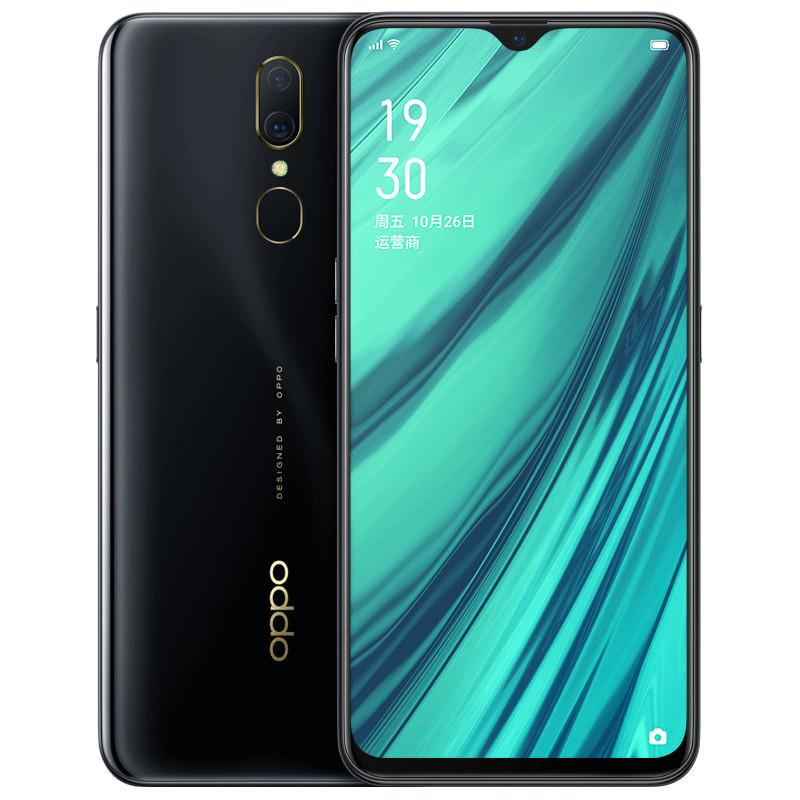"Original Oppo A9X 4G LTE Cell Phone 6GB RAM 128GB ROM Helio P70 Octa Core Android 6.53"" Full Screen 48.0MP Fingerprint ID Smart Mobile Phone"