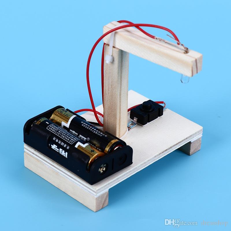 Selbstgemachte Banknoten-Detektor-Technologie Kleines Invention Spielzeug Science Experiment Modell