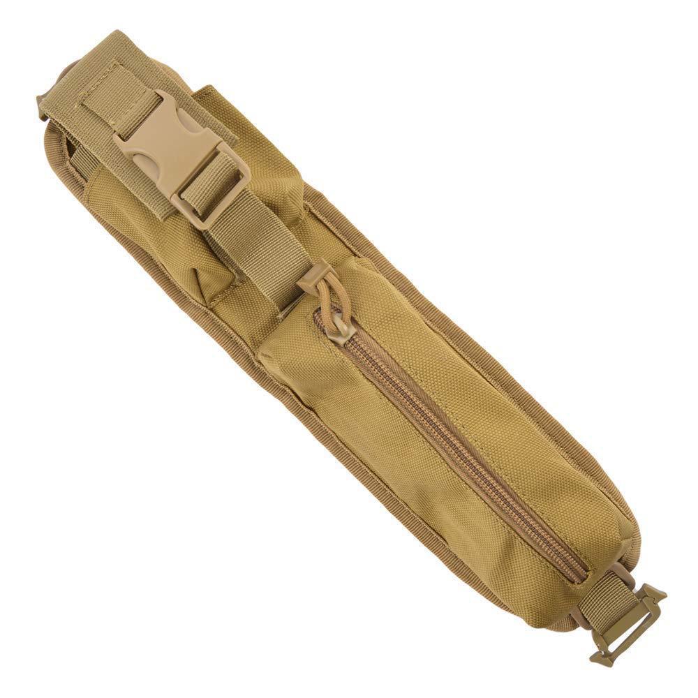 Bolsa de radio táctica de la bolsa del bolso de hombro de la correa de caza al aire libre Escalada camping correa de la bolsa de accesorios Molle Pen Tool Pack