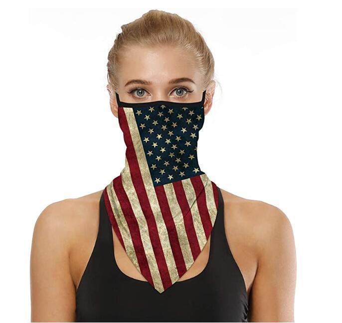Mask-Mode-Gesicht Bandana Ear Loops Stylish Men Frauen-Ansatz Gaiters für Staub Wind Motorrad Mehrzweckhalswärmer Schal