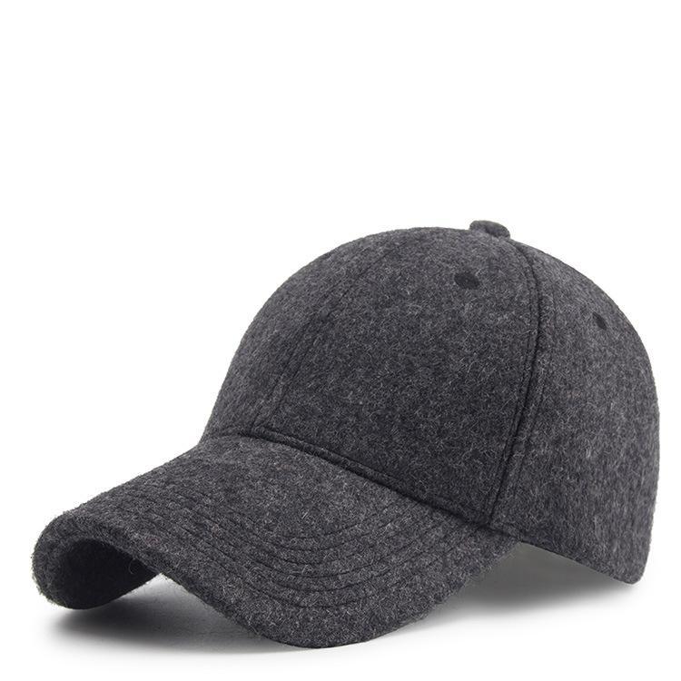 Más gruesa de terciopelo nuevo otoño y sombreros de invierno caliente al aire libre marea gorra de béisbol de los hombres y de las mujeres