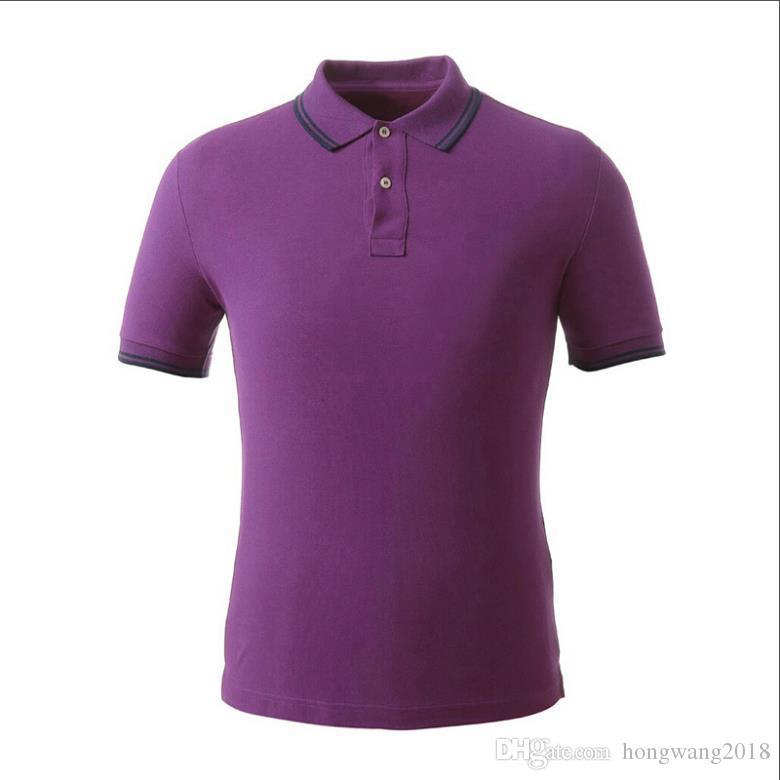 세련된 Psradas 폴로 티 셔츠 남성 패치 스트라이프 디자인 풀오버 짧은 소매 솔리드 컬러 남성 스포츠 폴로 셔츠 무료 선박면 개요