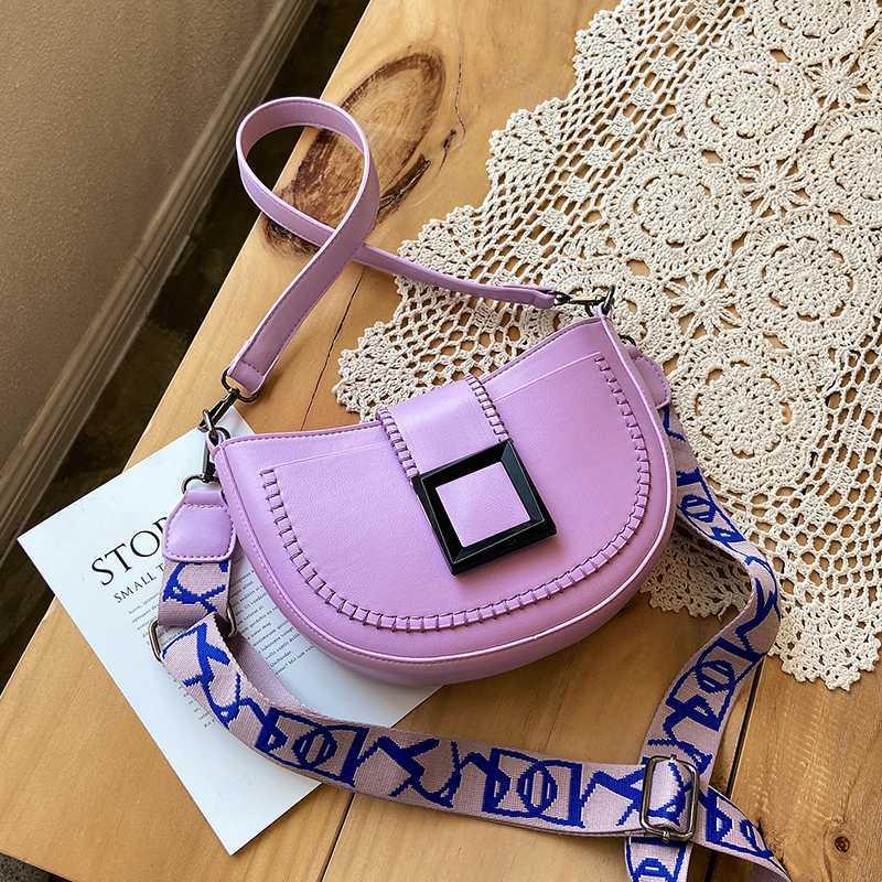 NOVO francês Design de Moda Saddle Bag Elegant Handbag Bolsa de Ombro Diagonal Largura 25 centímetros Altura 16 centímetros de espessura 6 centímetros