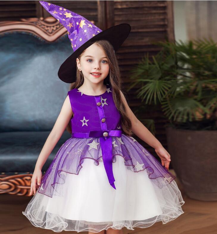 childrens abito abito da ballo strati principessa sera le ragazze vestiti vestiti da partito dei capretti bambino di alta qualità abbigliamento bambino per 110-160cm