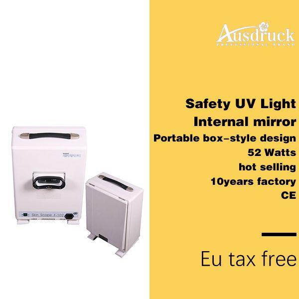 새로운 휴대용 피부 시험 조명 피부 분석기 진단 UV 램프 얼굴 스캐너 기계 최고 품질