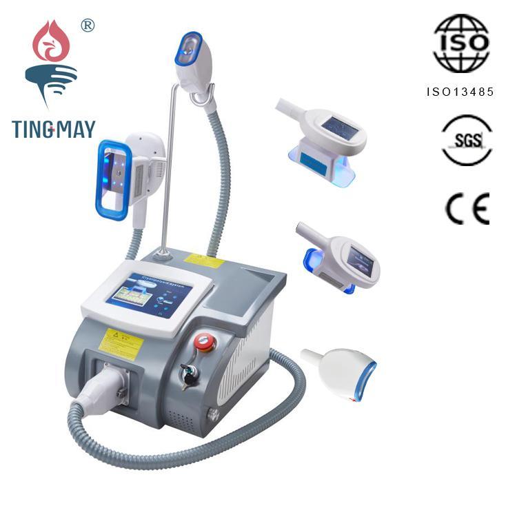 ارتفاع معدلات إعادة الشراء الرئيسية استخدام حسن بيع الجسم آلة التخسيس المحمولة فراغ واحد فراغ cryolipolysis مقبض الدهون تجميد TM-920