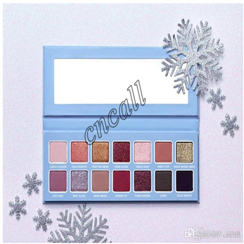 2019 Newest Hot Famous Make Up Set 2018 Christmas Edition Eyeshadow Palette Chill Baby Eye Shadow Gift DHL Shipping From Cncall, $6.37 | DHgate.Com