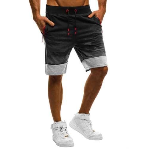 Pantaloncini da uomo primavera e estate con cuciture mimetiche Casual moda pantaloncini comodi sport alla moda GYM a piedi da basket