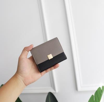 Горячий кошелек леди кожаный кошелек мужские продажи - роскошь 4 мода Cluth подлинный дизайнер короткий дизайнерские сумки цвета кошельки EFTEO