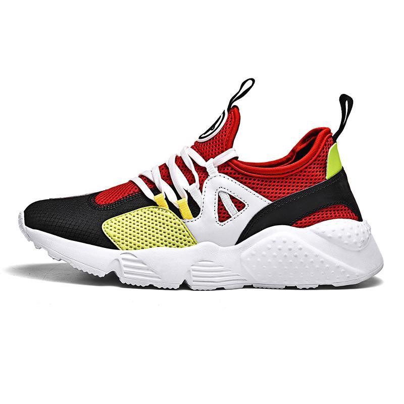 Erkekler için karışık Renk Koşu Ayakkabıları Ücretsiz Eğitim Boyutu 35-47 Dantel-up Marka Yeni Trendy Açık Atletizm Fitness Spor Kadın Ayakkabı