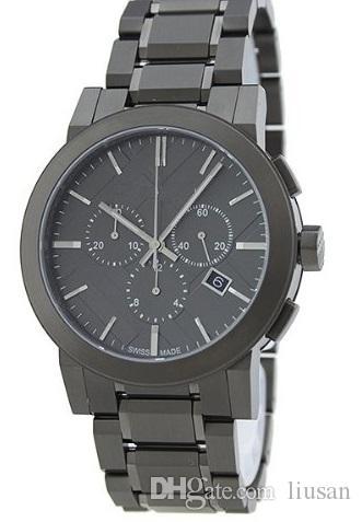 L'uomo classico di modo guarda gli orologi del quarzo bu9354 guarda l'orologio di marca di alta qualità che spedice liberamente
