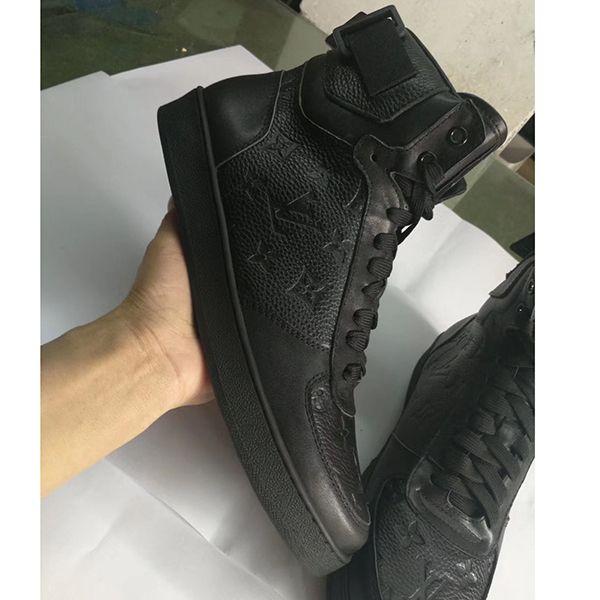 Çok lüks Üçlü S Tasarımcı Yüksek Kalite Sneaker Kombinasyon Taban Boots Erkek Moda Günlük Ayakkabılar Yüksek Üst Kalite Boyut 38-45 hiçbir kutu 1s