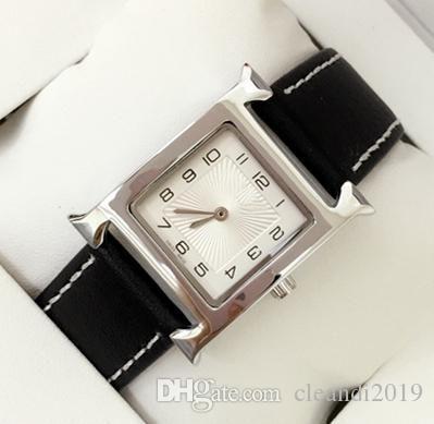 Nouveau design de mode en cuir de femmes Robe montres à quartz femme Horloge cuir véritable montre-bracelet célèbre dame design Relojes De Marca Mujer