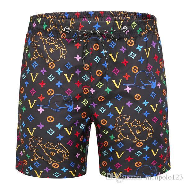 Новая мода мужские шорты случайные сплошной цвет доски пляжные брюки мужские летом стиль пляж плавание шорты мужские спортивные шорты