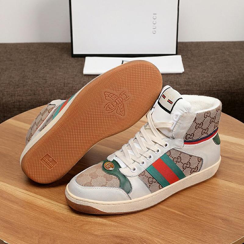 Homens Casual Shoes Sapatilhas Chaussures Pour Hommes homens de couro da sapatilha Alta Parte-Top Moda Botas Sapatos Sapatos Masculinos Stivali Da Uomo rápido Shi