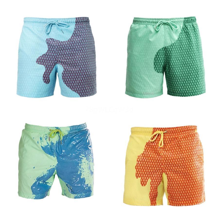 Mesh Lined Mens Swimming Shorts Nylon Quick Dry Swimwear Men Short Surf Swim Trunks Beach Leisure Sport Wear Swimsuit Briefs Man#661
