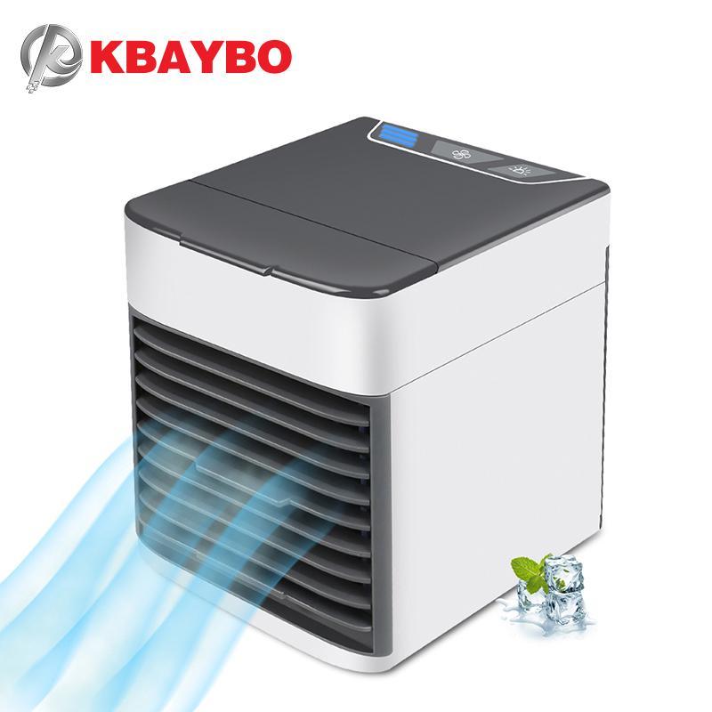 Fräscha 2019 KBAYBO USB Air Conditioning Fan Mini Air Cooler Refrigeration ES-52