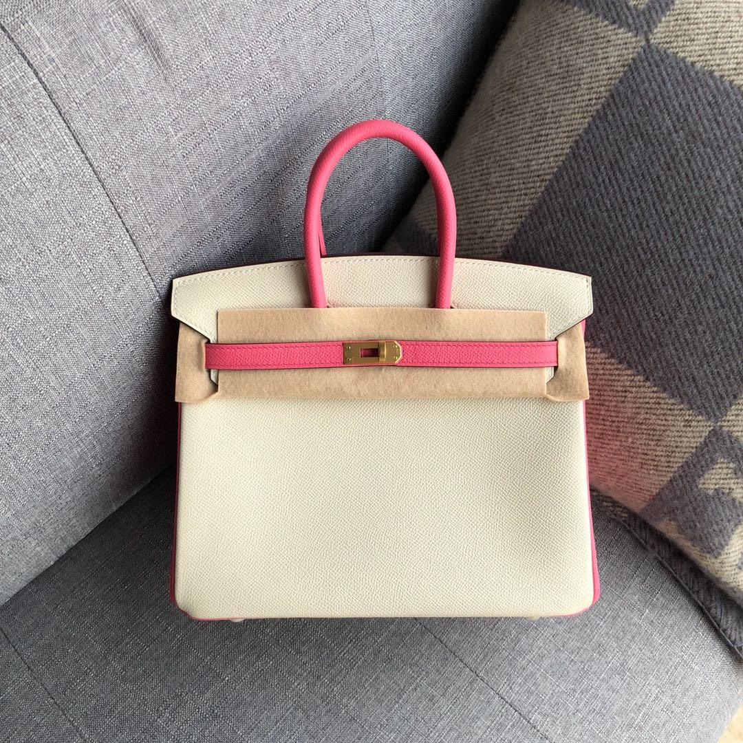 best quality orginal white 30cm brikin bag,epsom skin,handmade,wax thread,by order,many colors with different size on website or instagram