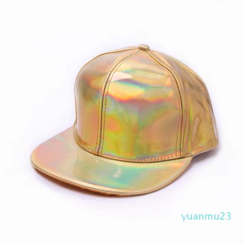 Оптово-JAYCOSIN Hat Хлопок Человек Женщины Бейсбол Solid Color флуоресценция Flat шляпой Хип-хоп моды дизайн высокого качества солнце