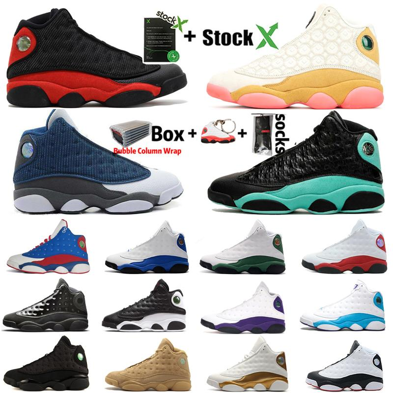 2020 New 13s Flints Breed CNY Baseball Shoes PE Home Captain America Island Green Court Purple Lakers Mens Sports Designer Sneers