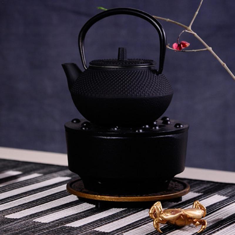 vendas Hot New Alta Qualidade Atacado 300ml Mini Cast Iron Kettle Teapot Tea Set Vendas direto da fábrica